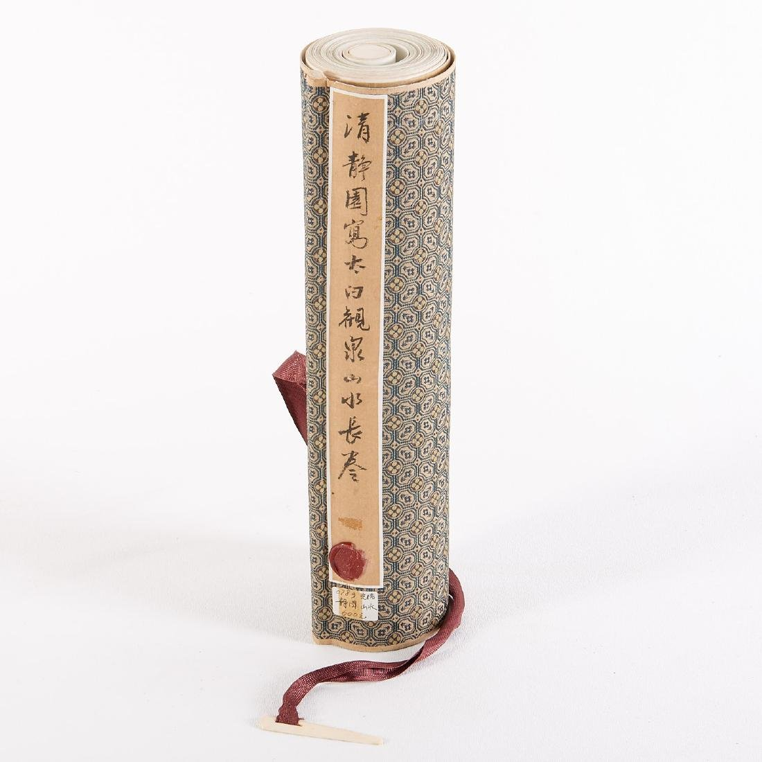Chinese School, epic scroll painting - 2