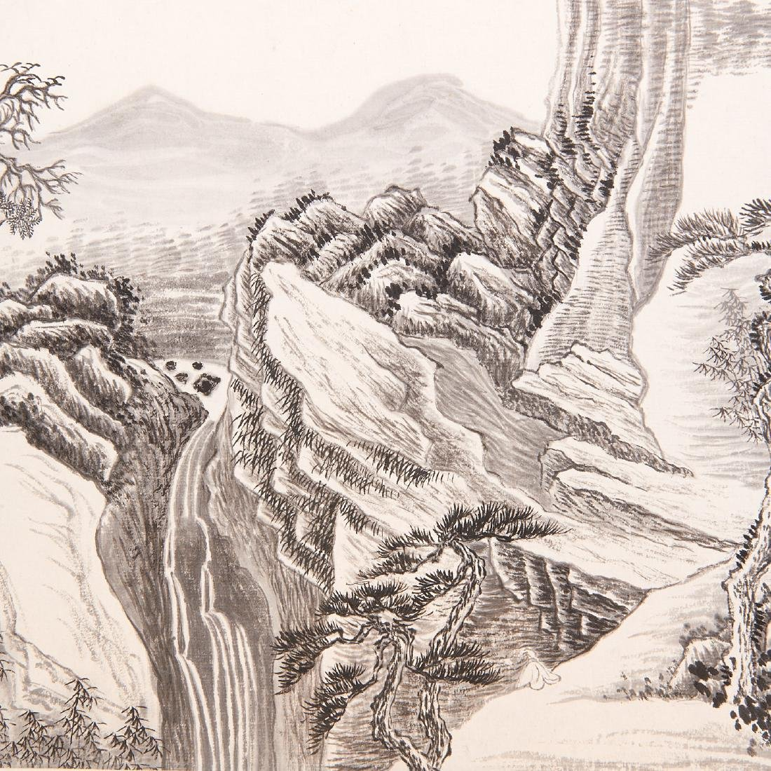 Chinese School, epic scroll painting - 3
