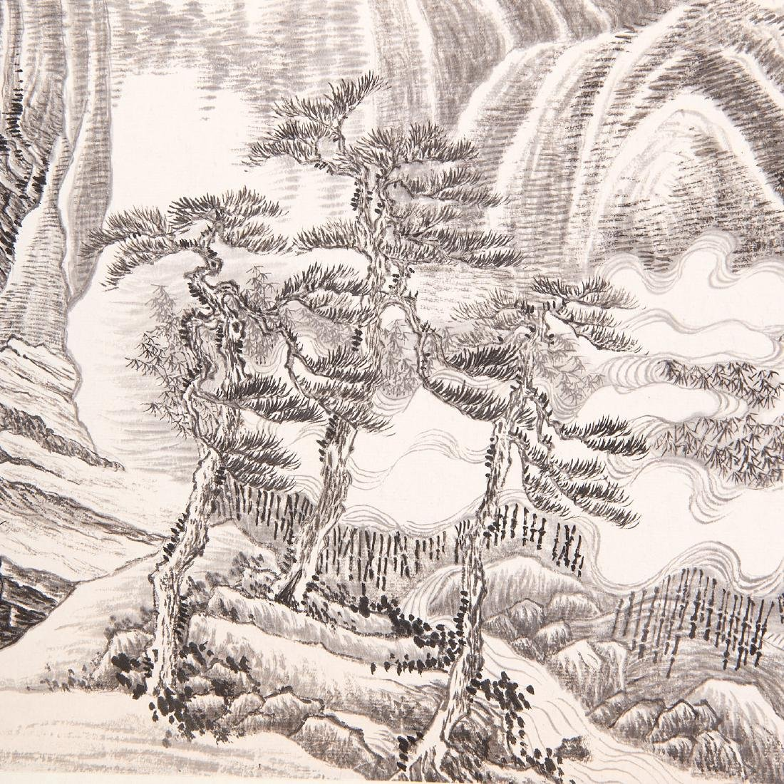 Chinese School, epic scroll painting - 4