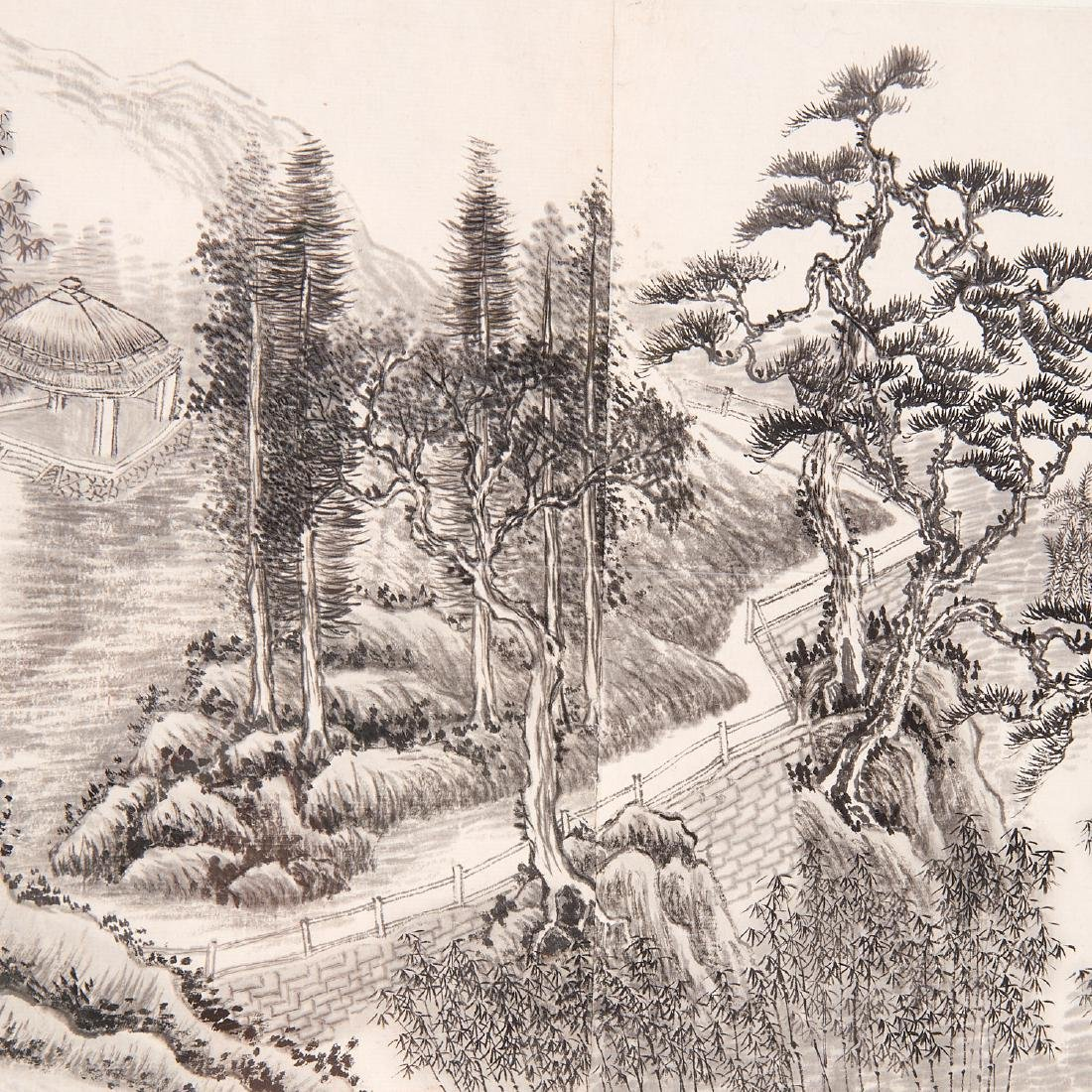 Chinese School, epic scroll painting - 7