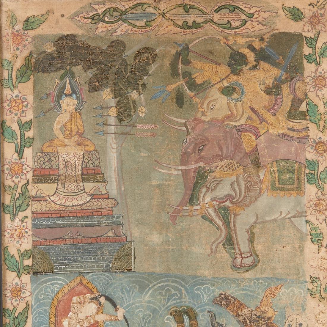 Buddhist narrative painting - 2