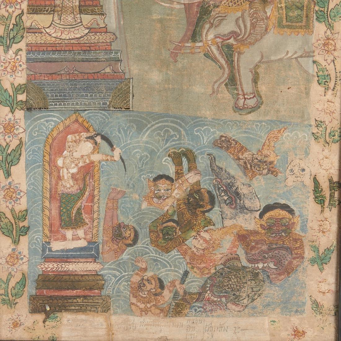 Buddhist narrative painting - 3