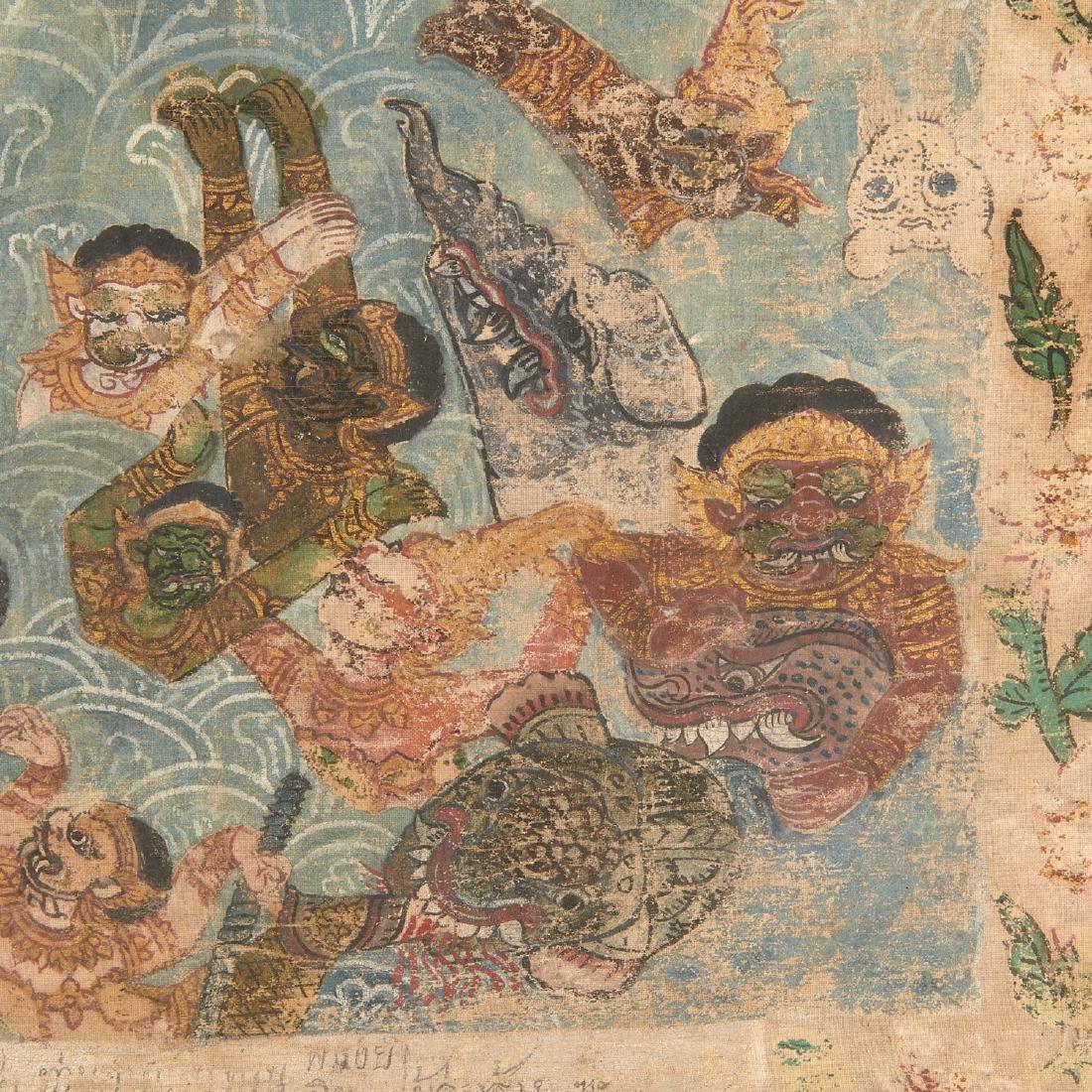 Buddhist narrative painting - 4