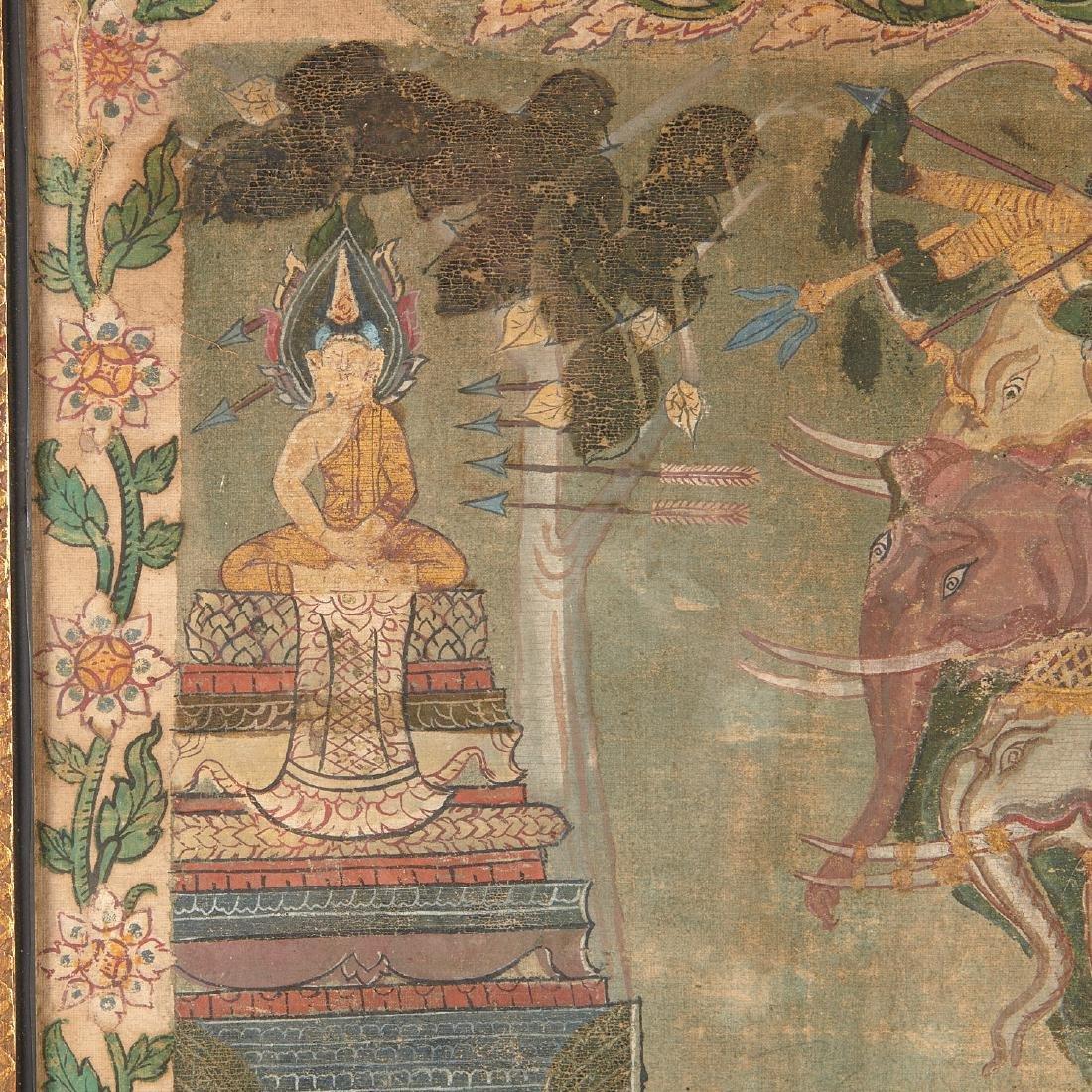 Buddhist narrative painting - 5