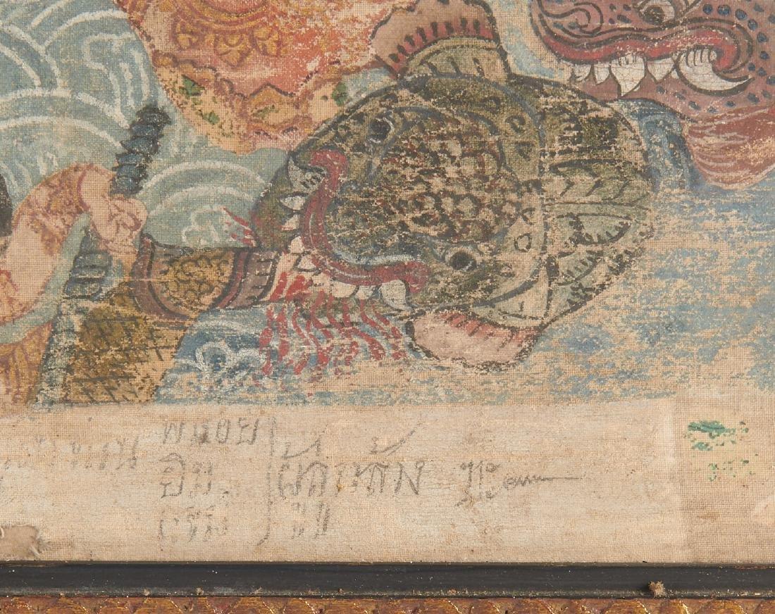 Buddhist narrative painting - 7