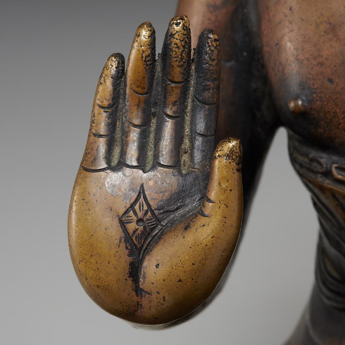 Sino-Tibetan bronze Buddha Sakyamuni - 4