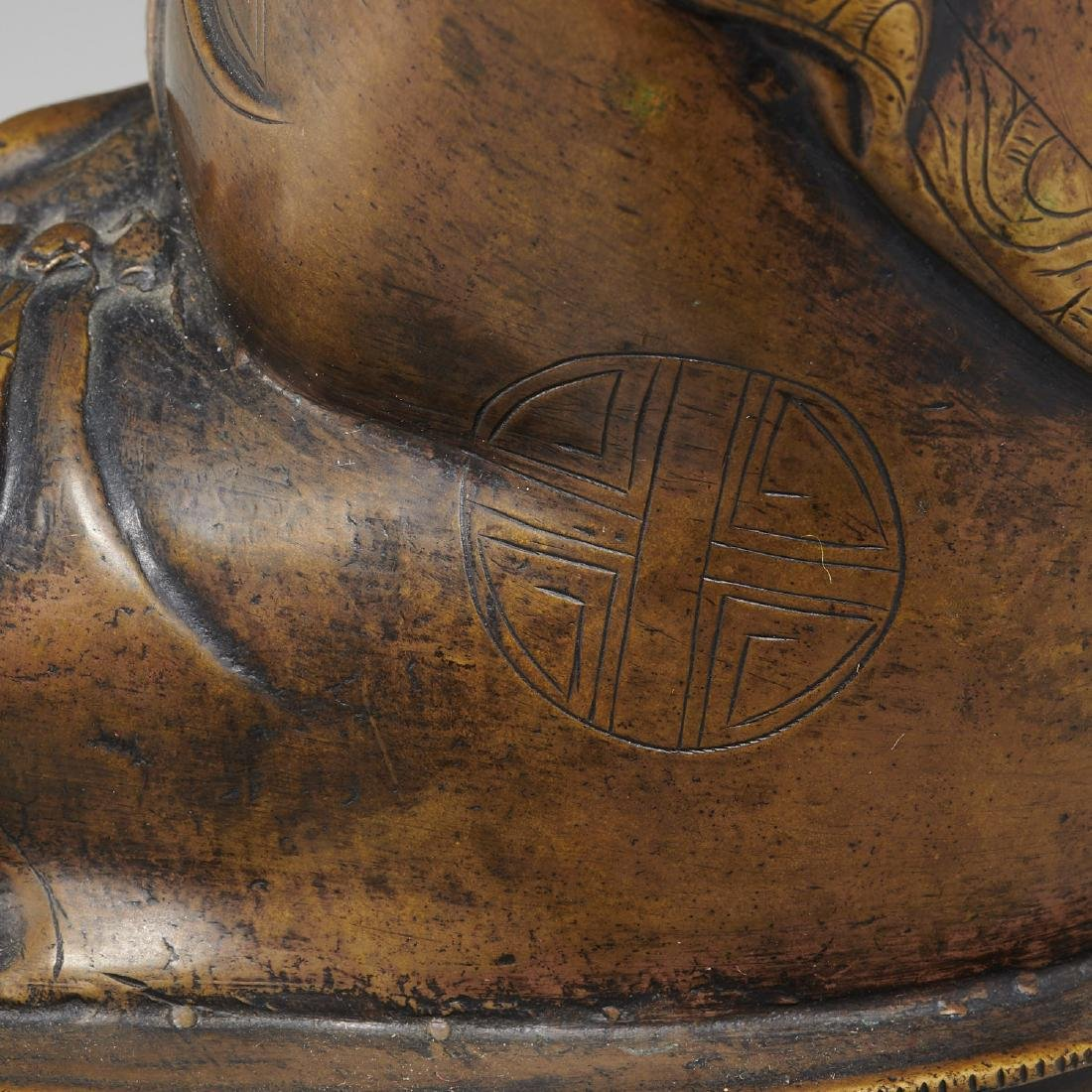 Sino-Tibetan bronze Buddha Sakyamuni - 5
