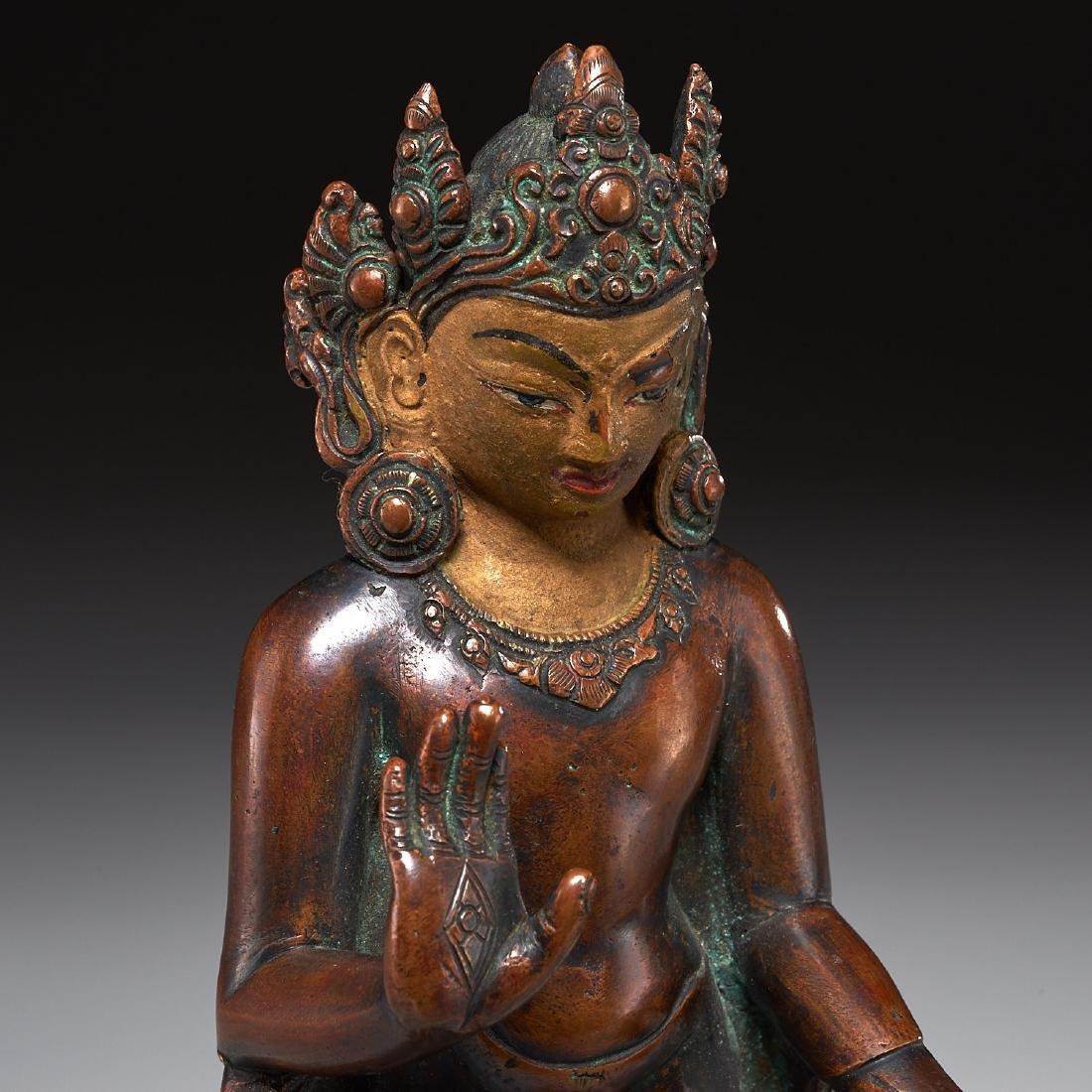 Himalayan figure of standing Tara - 2