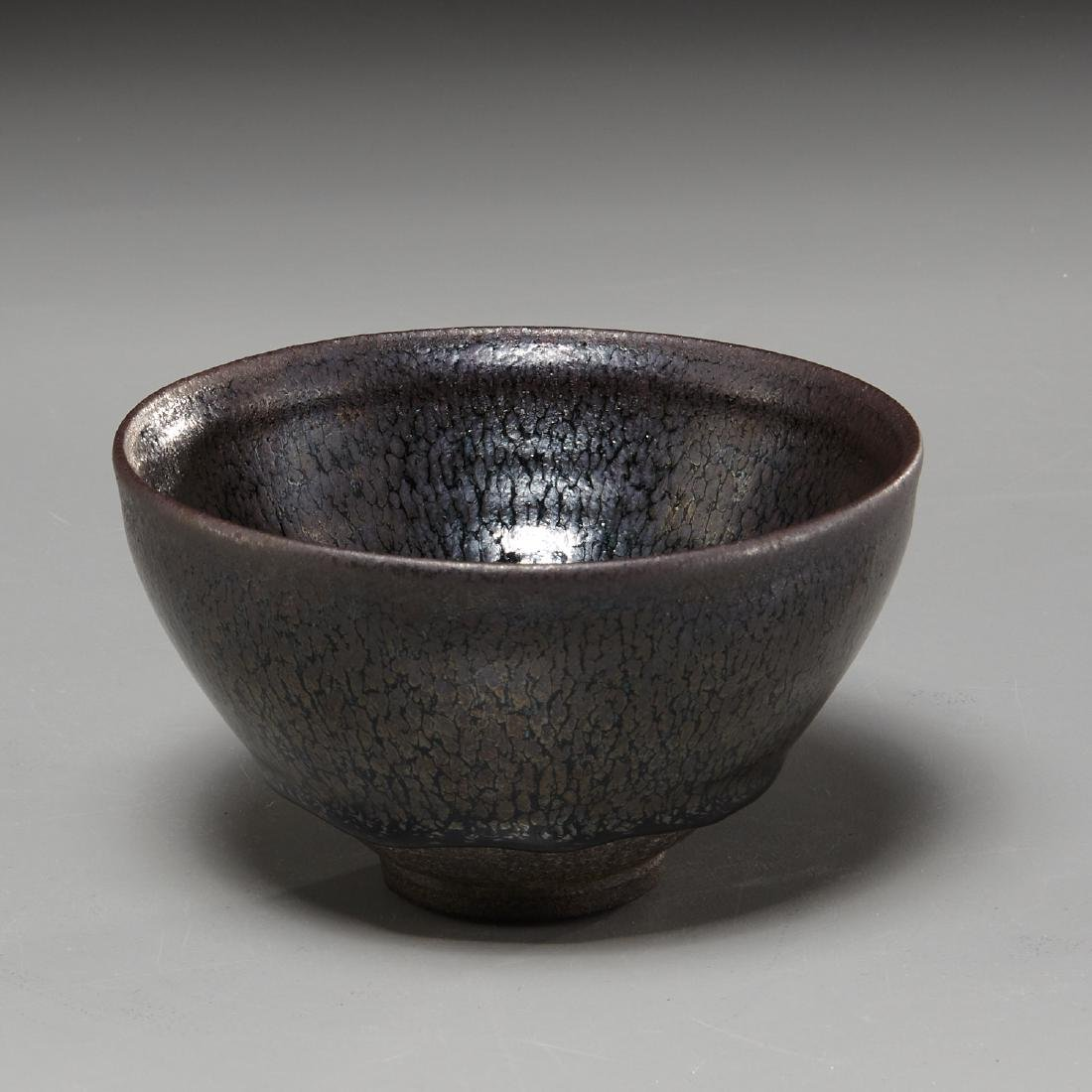 Chinese Jian ware glazed bowl