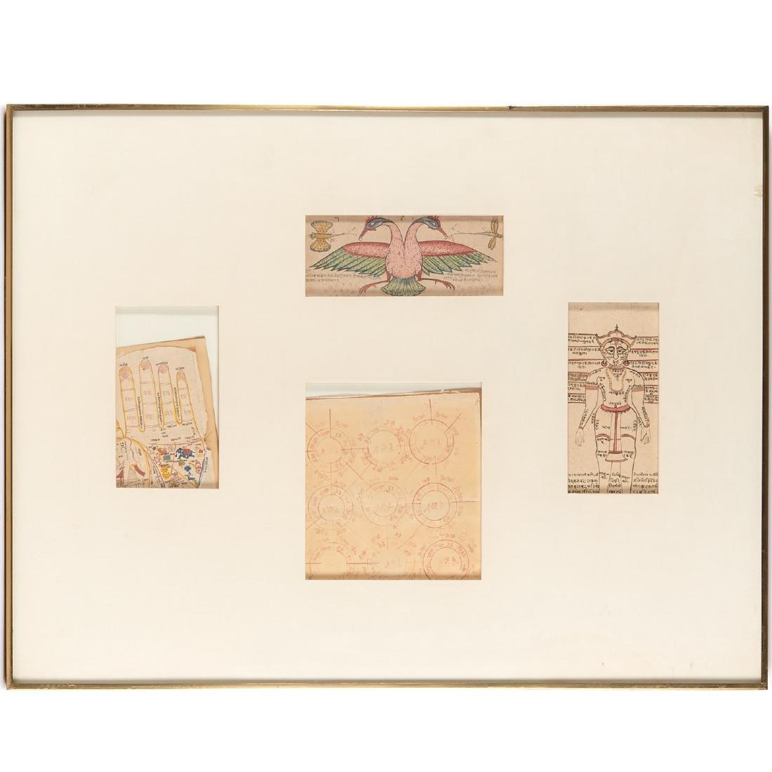 Group (4) Jain color diagram drawings