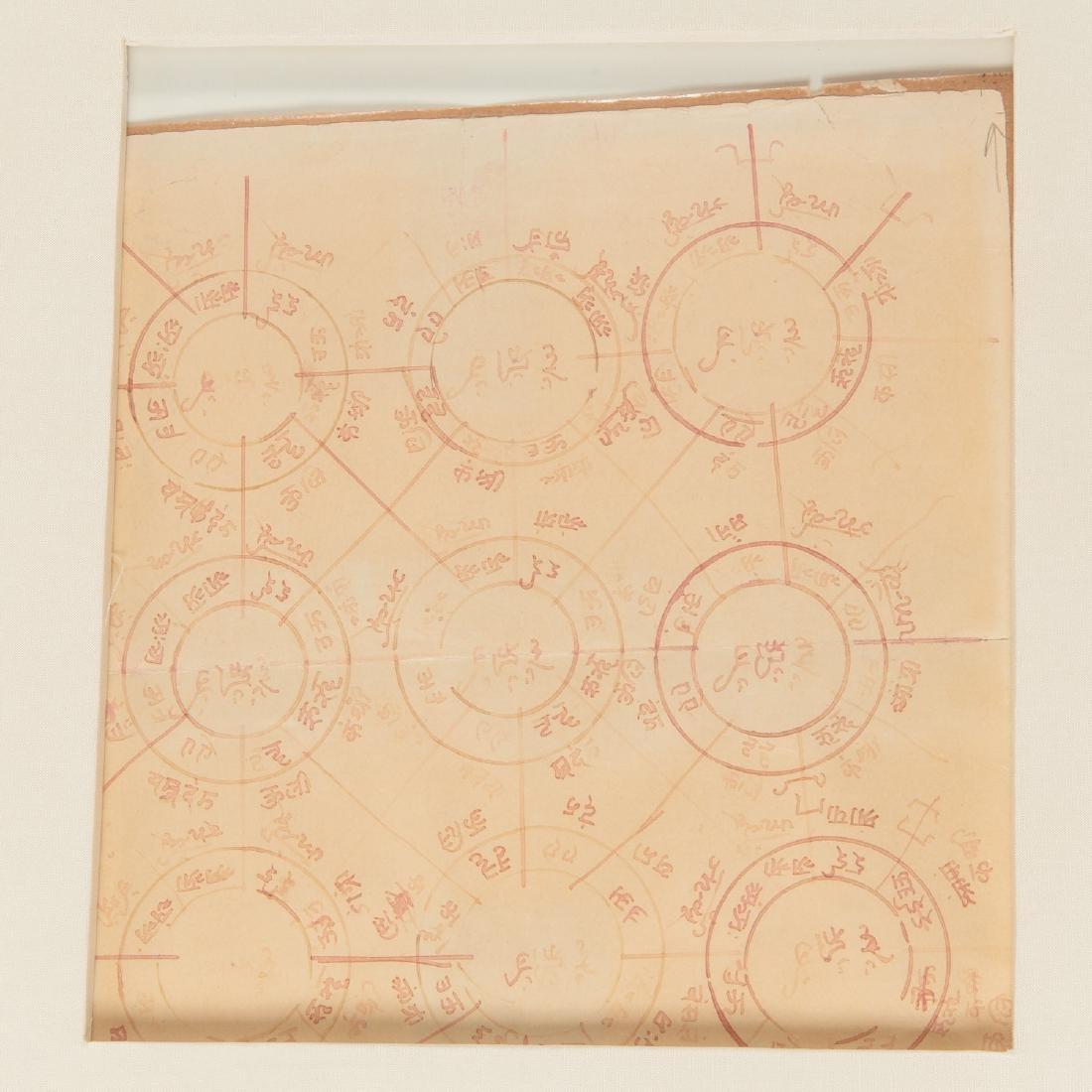 Group (4) Jain color diagram drawings - 3