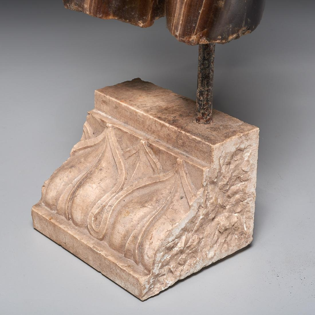 Greco-Roman style stone torso fragment - 2