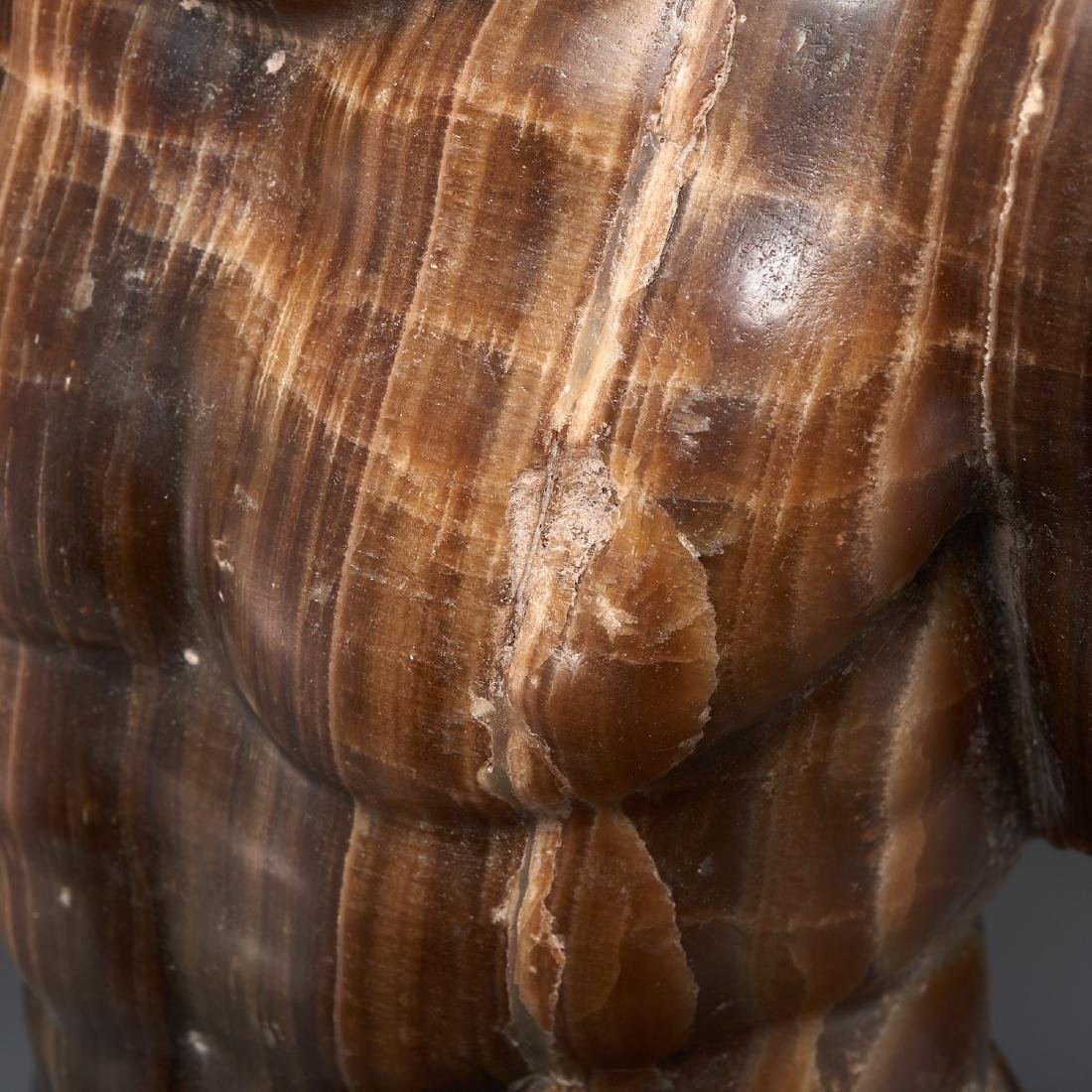 Greco-Roman style stone torso fragment - 3