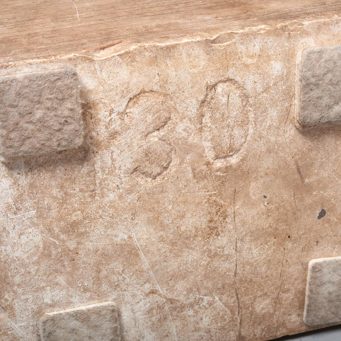 Greco-Roman style stone torso fragment - 7