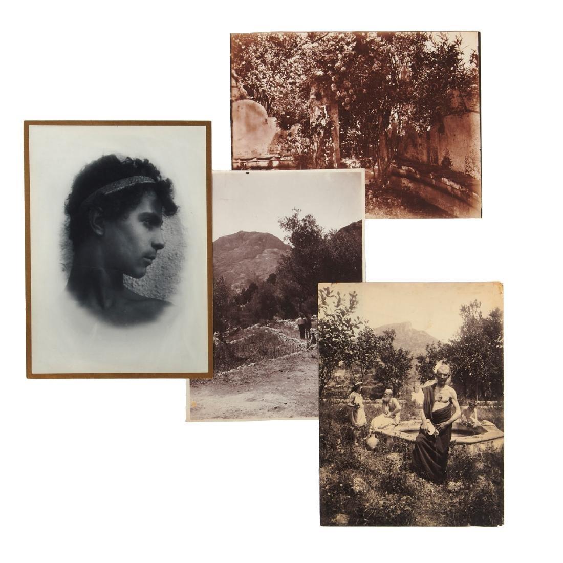 Wilhelm von Gloeden, (4) photographs