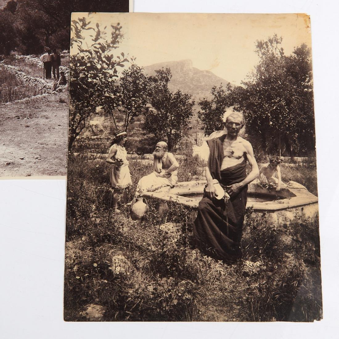Wilhelm von Gloeden, (4) photographs - 2