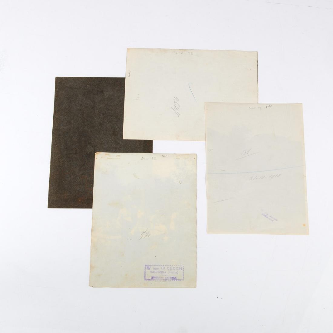 Wilhelm von Gloeden, (4) photographs - 6