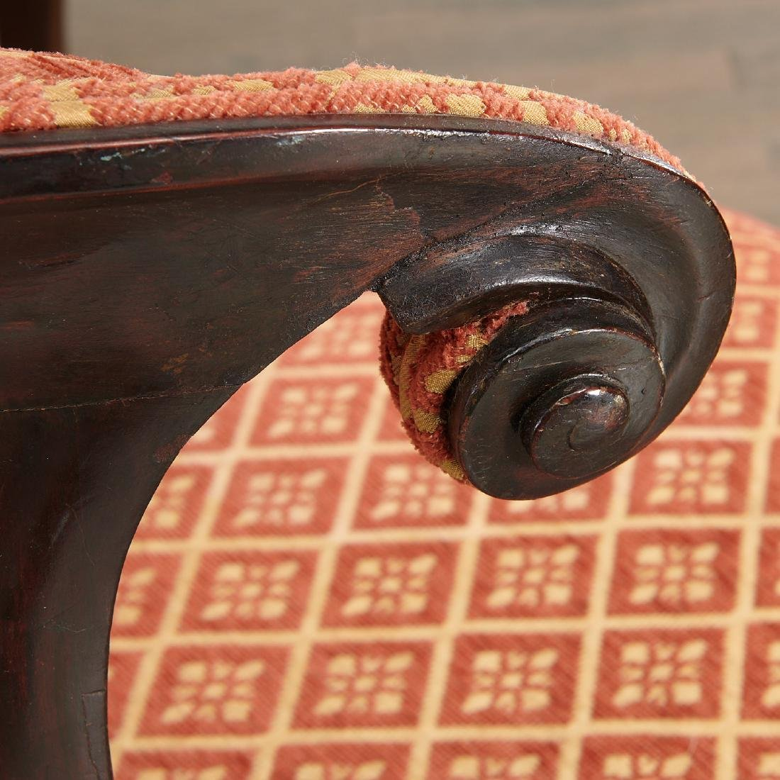 Set (6) Regency style Klismos dining chairs - 3