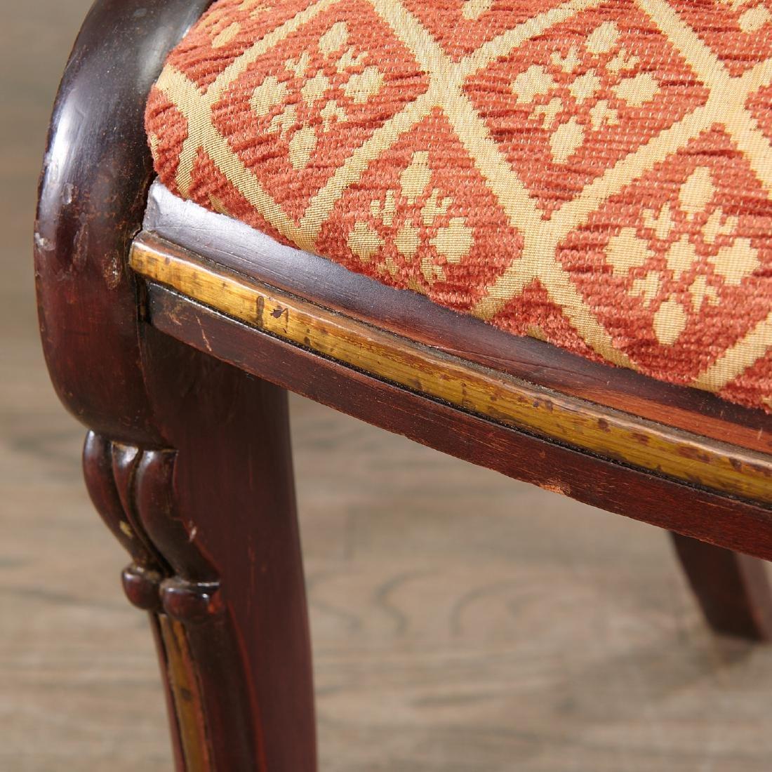 Set (6) Regency style Klismos dining chairs - 5