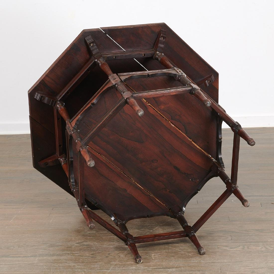Nice Aesthetic Movement octagonal center table - 5