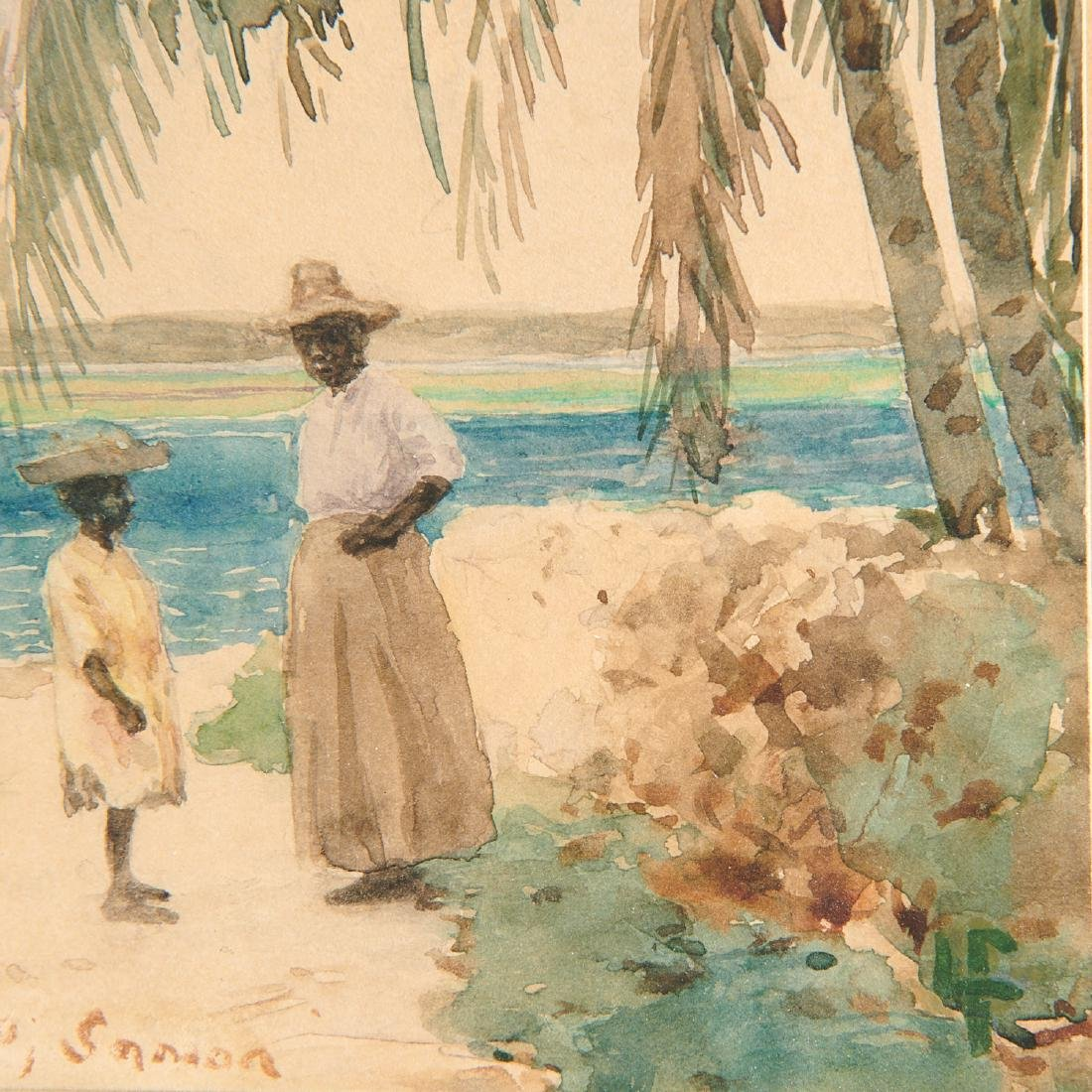 John La Farge, watercolor - 5