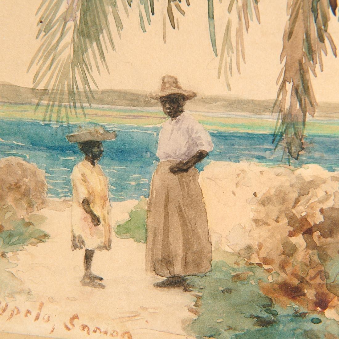 John La Farge, watercolor - 6