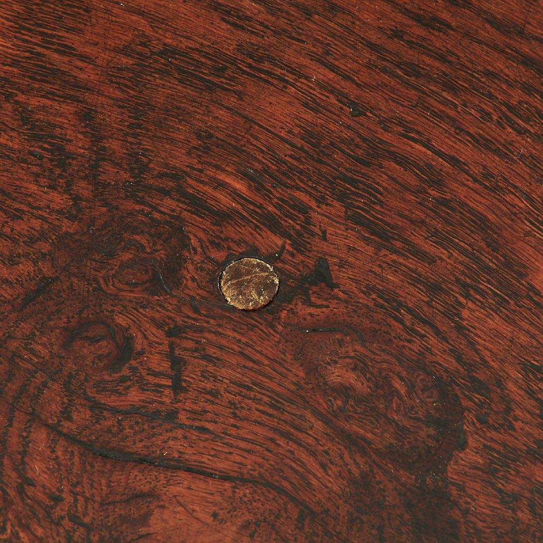William & Mary carved oak refectory table - 4