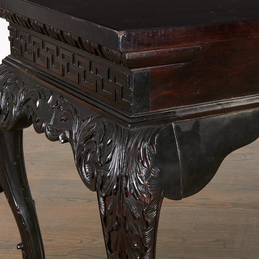 George III Irish Chippendale serving table - 8