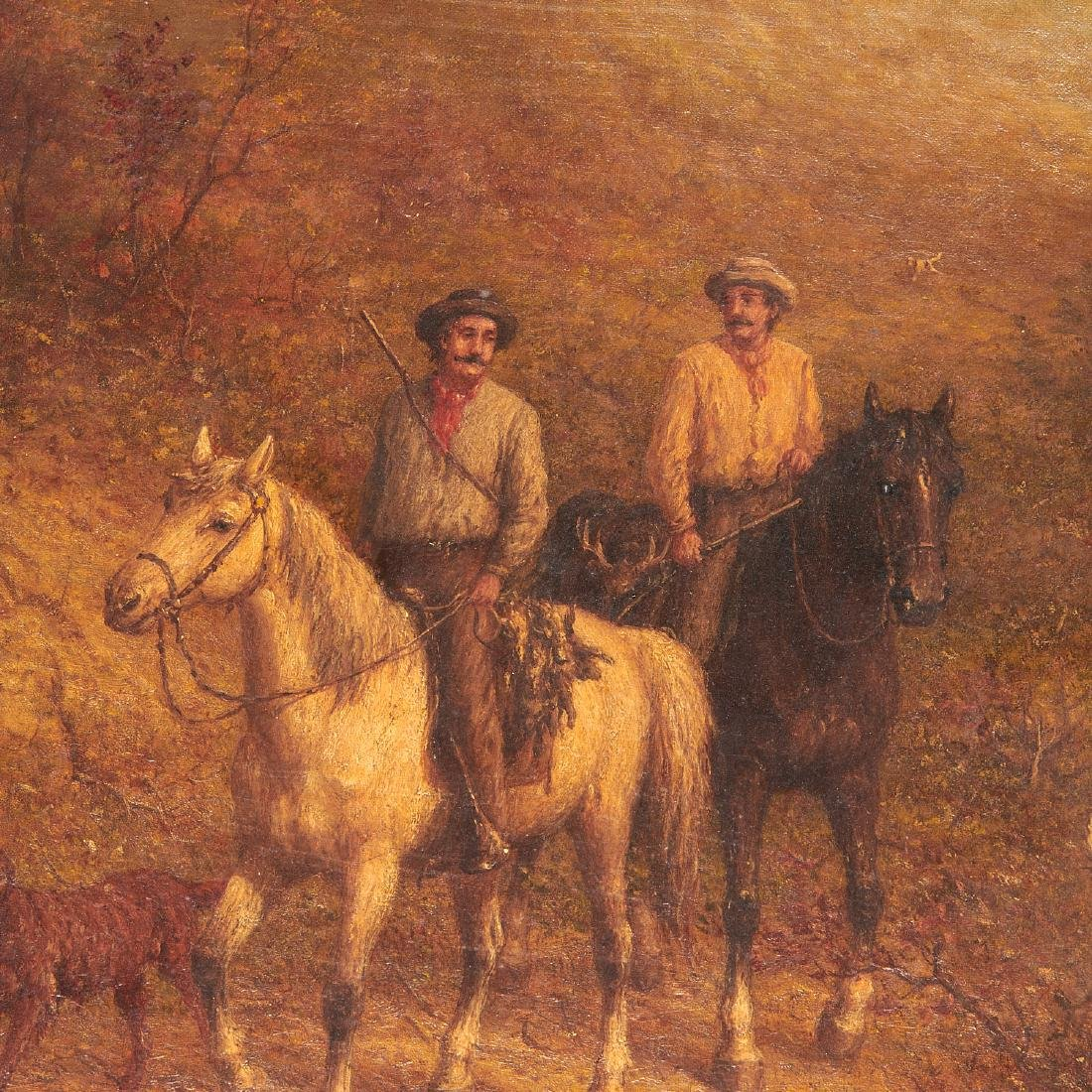 George Riecke, painting - 2
