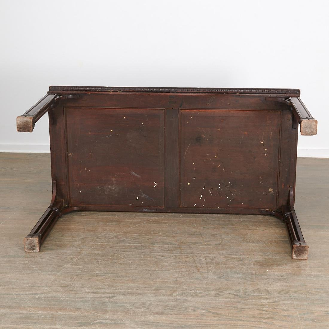 English Chinese Chippendale library table - 9