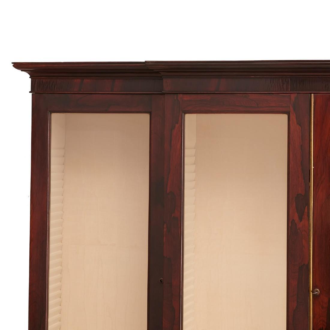 English Regency breakfront bookcase - 2