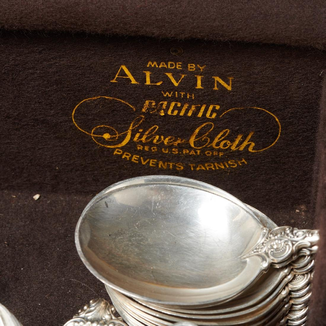 """Wallace """"Grand Baroque"""" sterling flatware set - 8"""