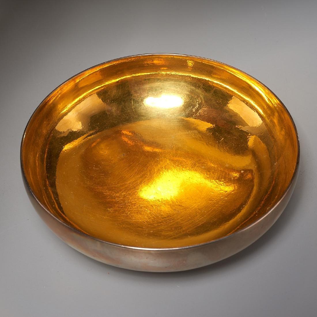 Hans Hansen modernist silver bowl - 2