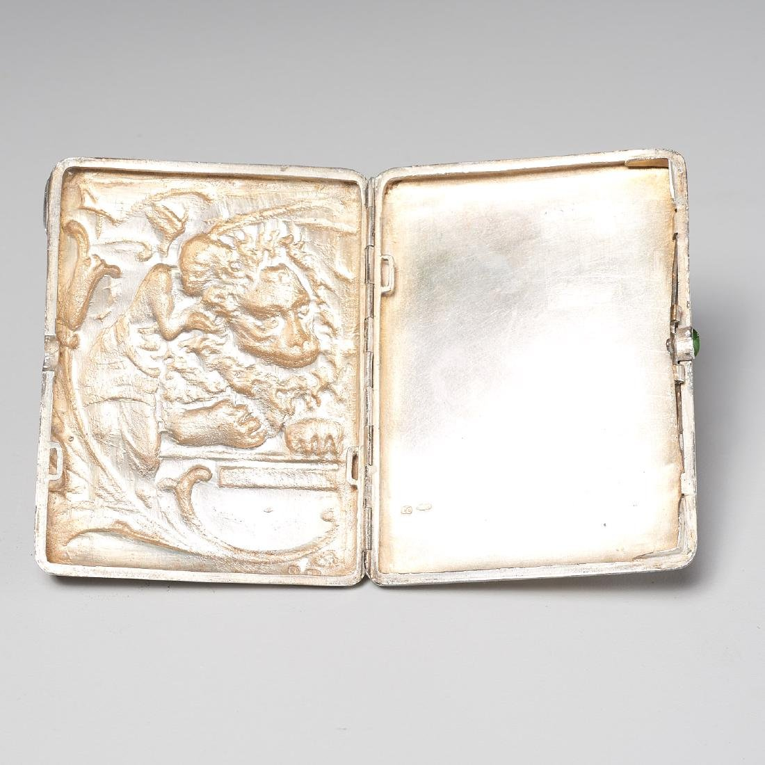 Russian Art Nouveau cigarette case - 5