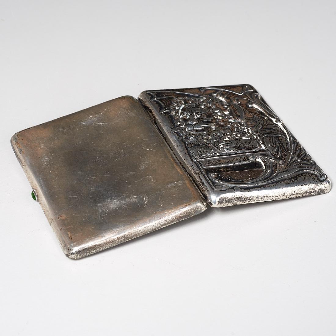 Russian Art Nouveau cigarette case - 7