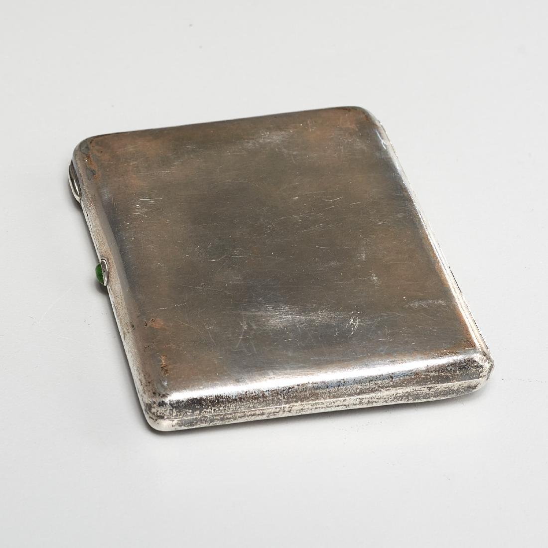 Russian Art Nouveau cigarette case - 8
