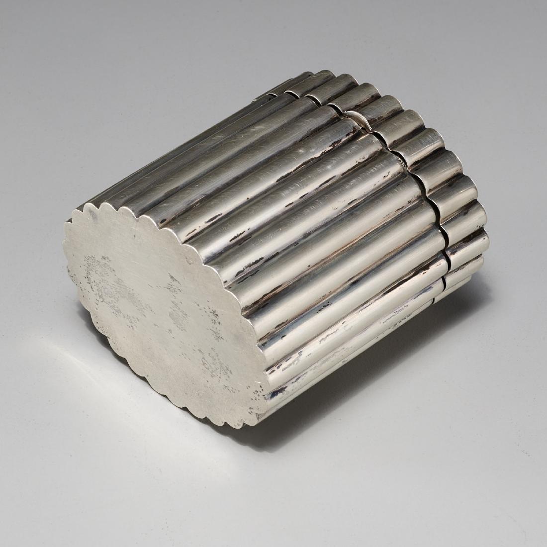 Tiffany & Co. Art Deco silver lidded box - 6
