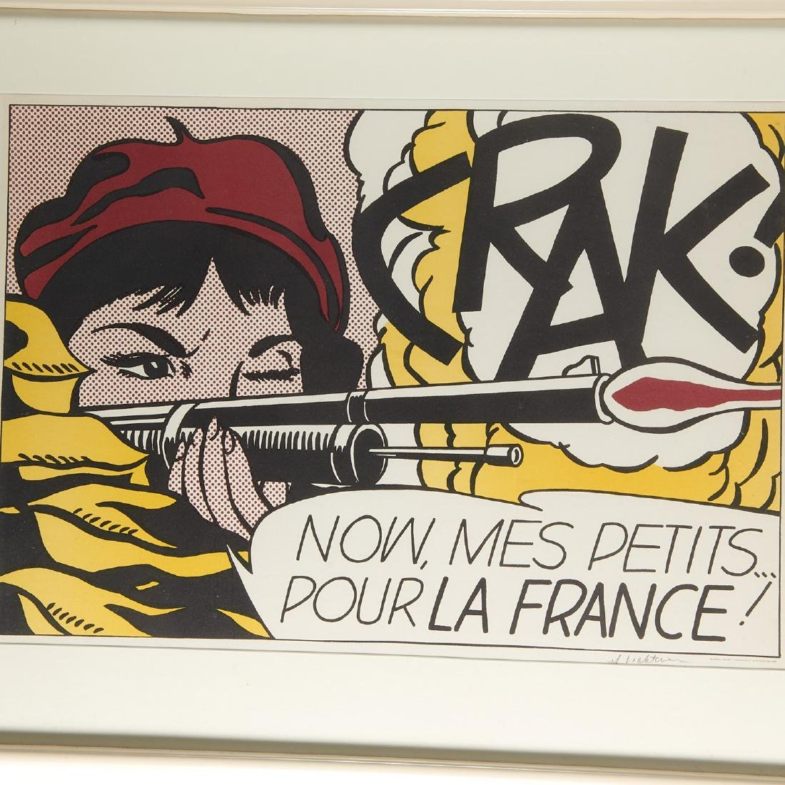 Roy Lichtenstein, signed lithograph - 2