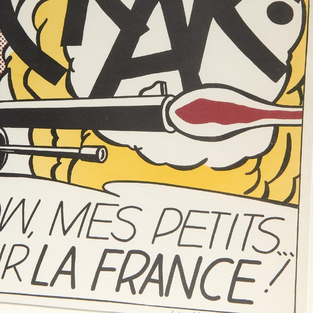 Roy Lichtenstein, signed lithograph - 4
