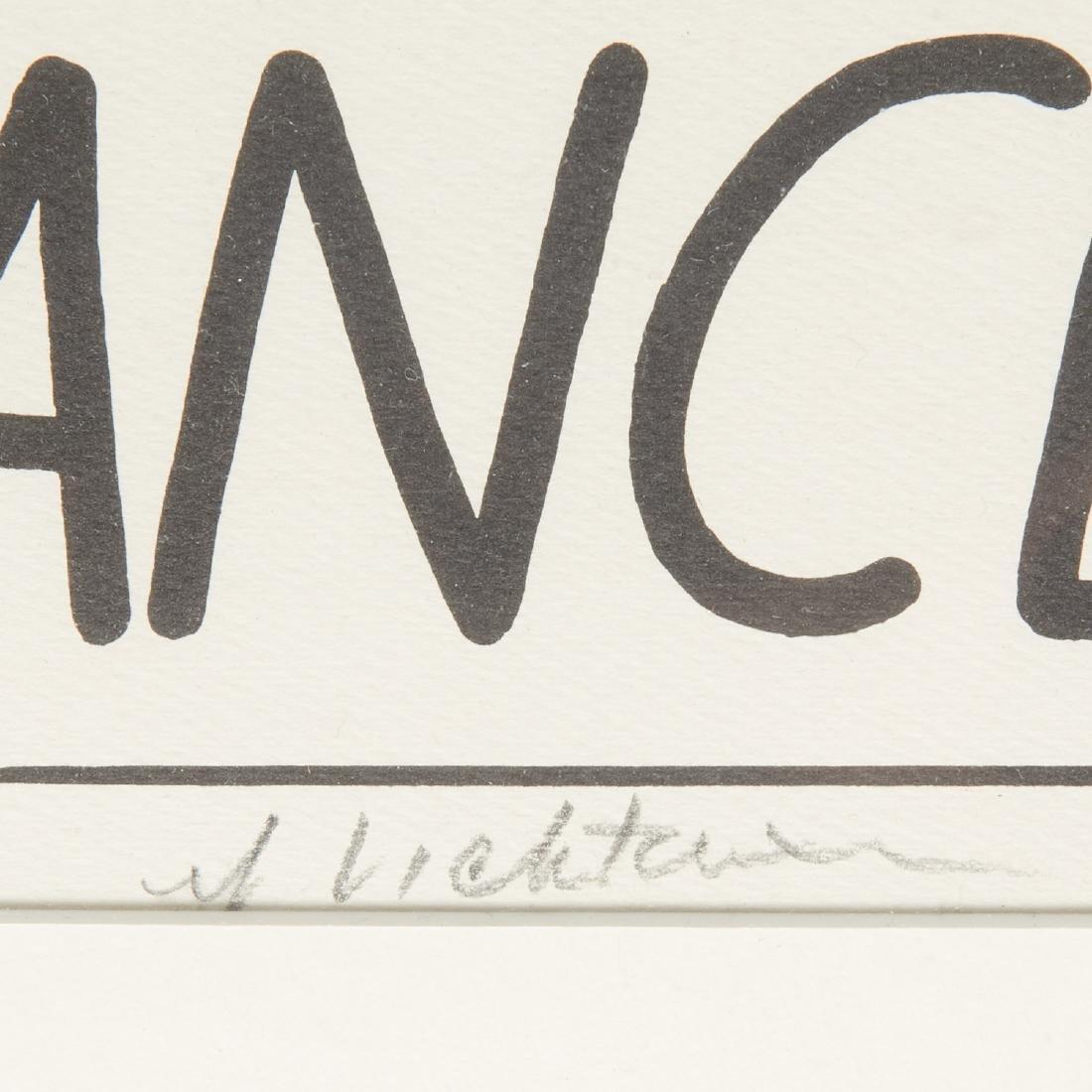 Roy Lichtenstein, signed lithograph - 5