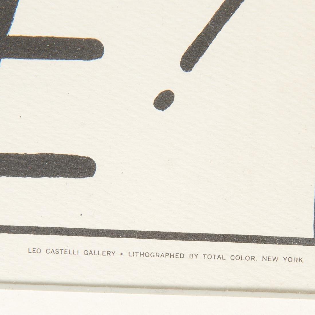 Roy Lichtenstein, signed lithograph - 6