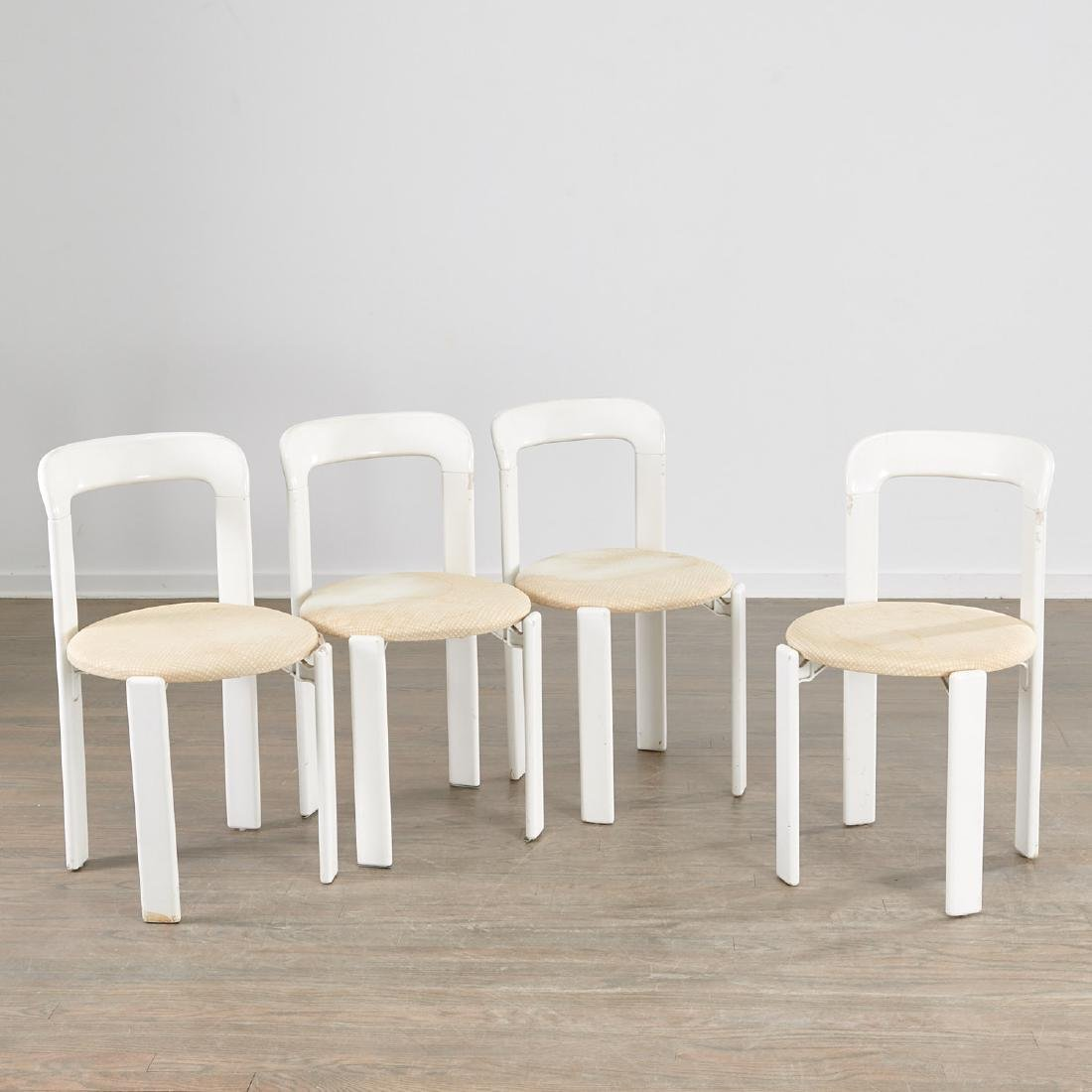 (4) Bruno Rey side chairs