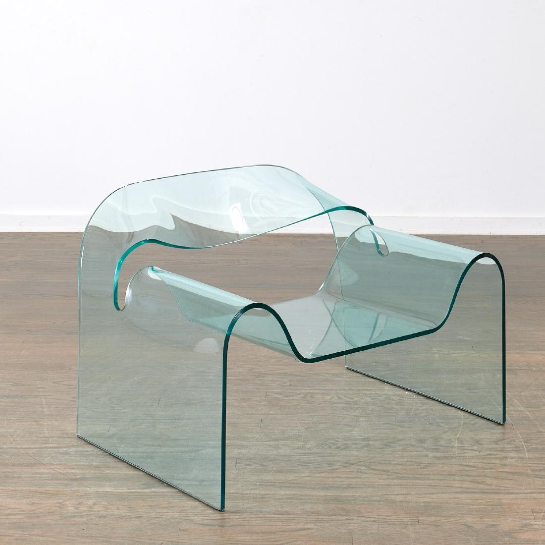 "Cini Boeri glass ""Ghost"" chair"
