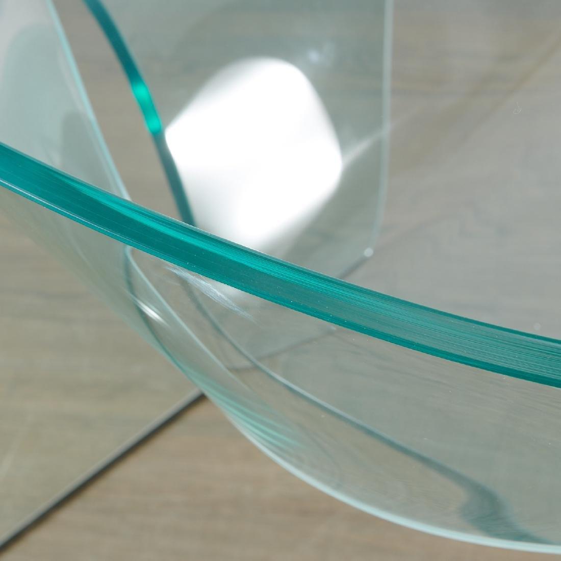 "Cini Boeri glass ""Ghost"" chair - 5"