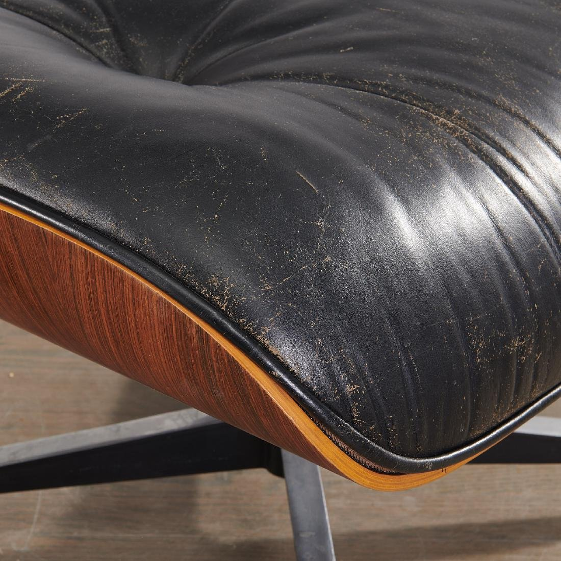 (2) Charles and Ray Eames 671 ottomans - 3