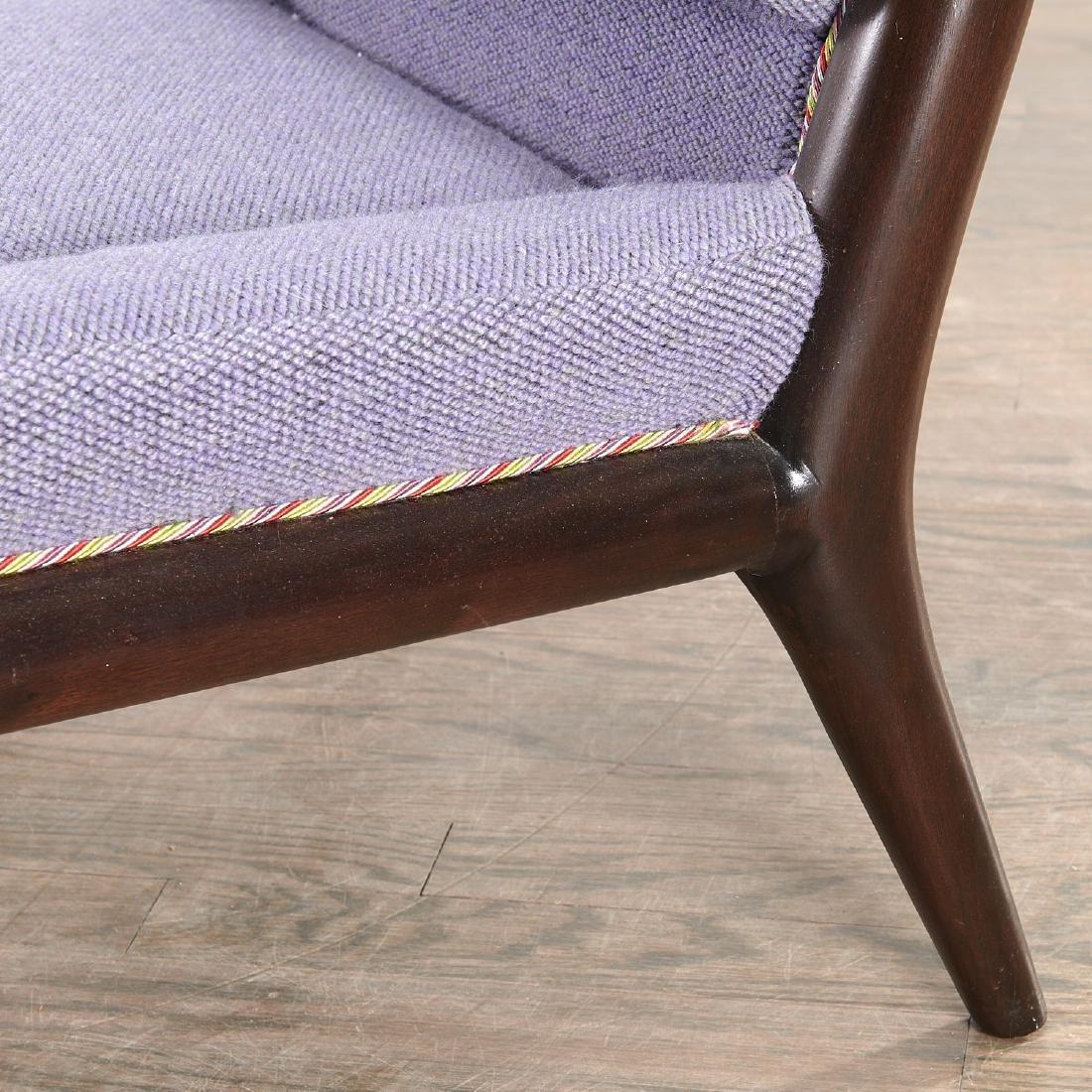 T.H. Robsjohn-Gibbings slipper chair - 5