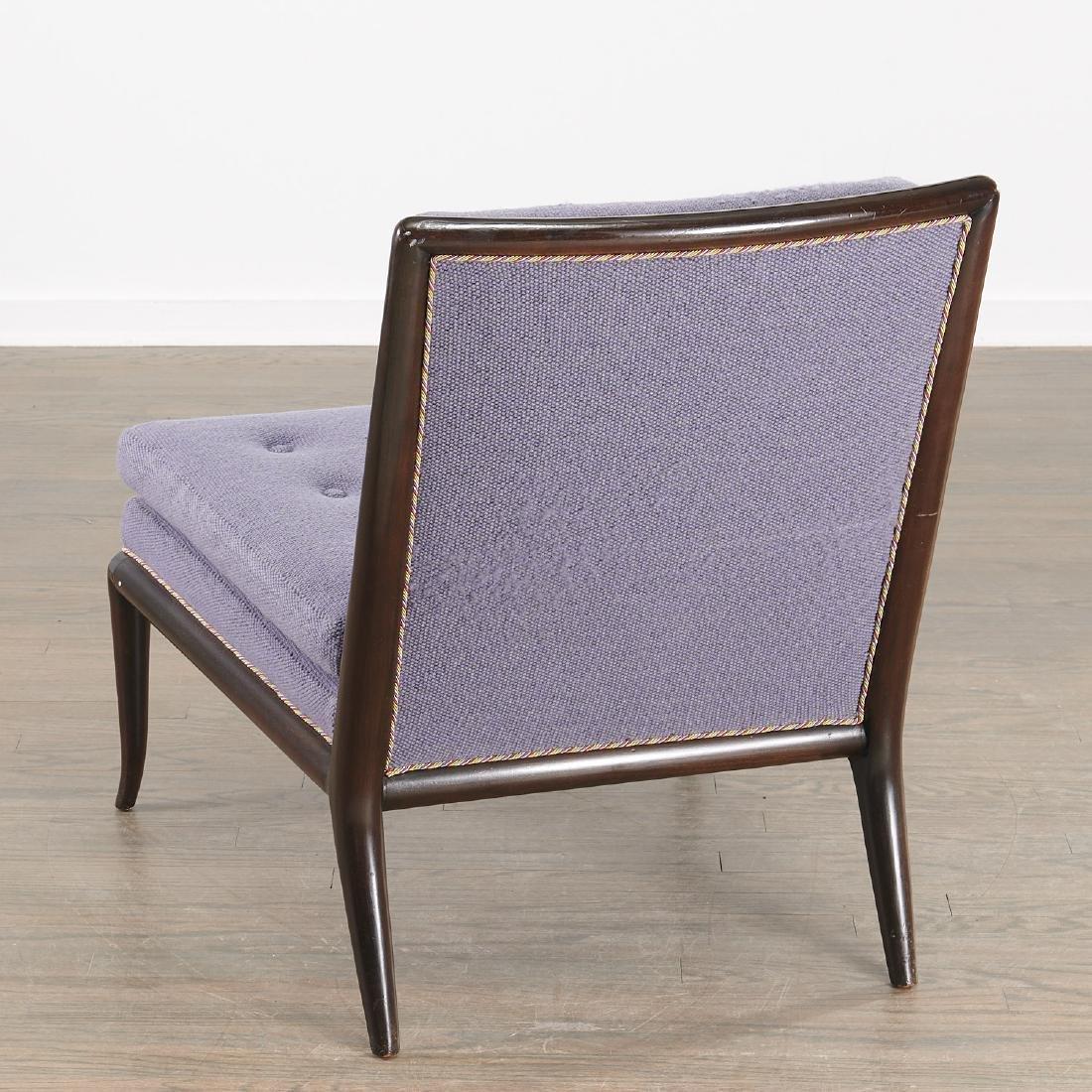 T.H. Robsjohn-Gibbings slipper chair - 7