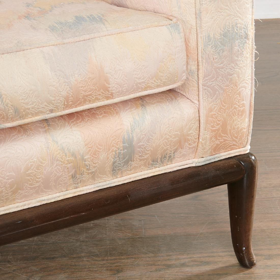 T.H. Robsjohn-Gibbings three-seat sofa - 4