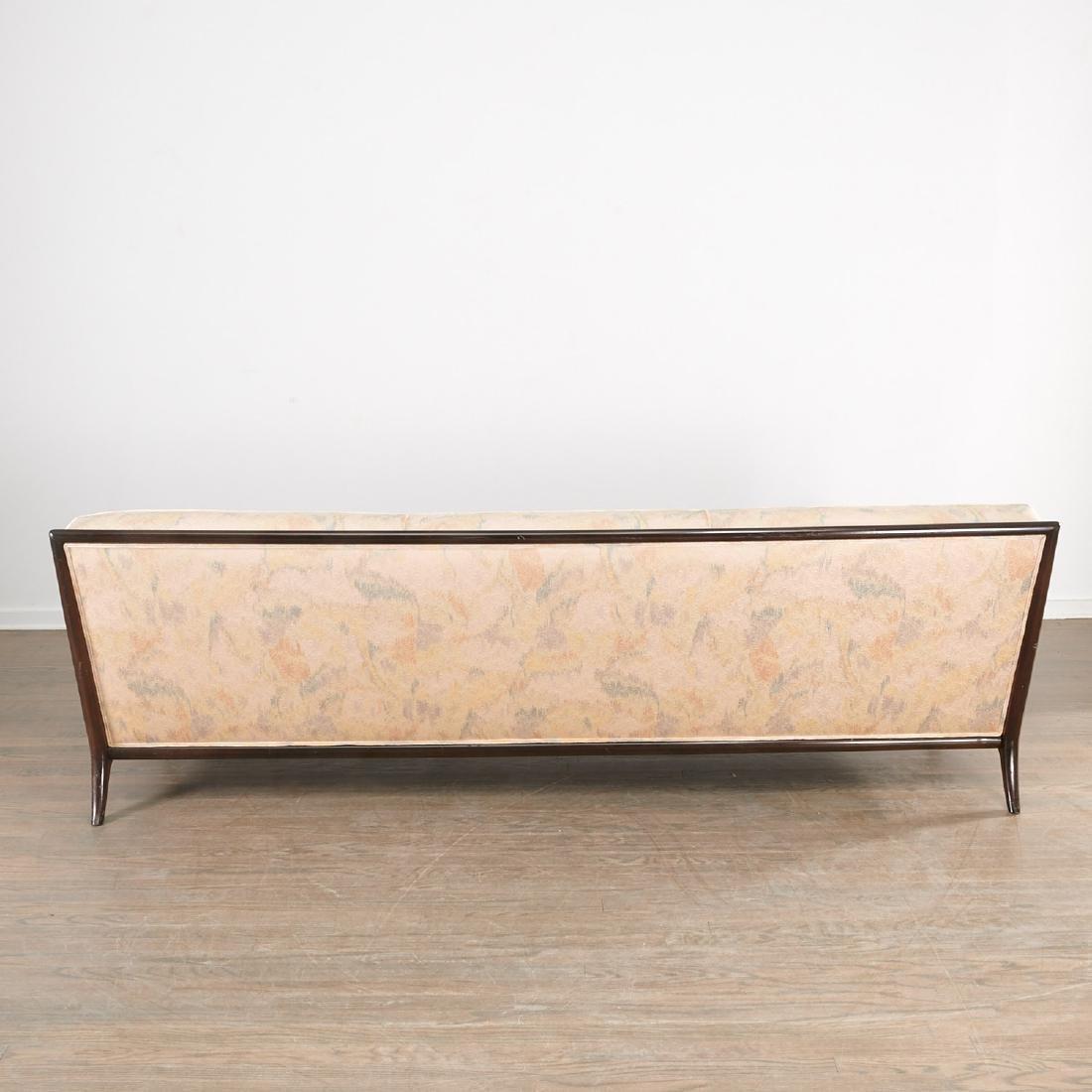 T.H. Robsjohn-Gibbings three-seat sofa - 7