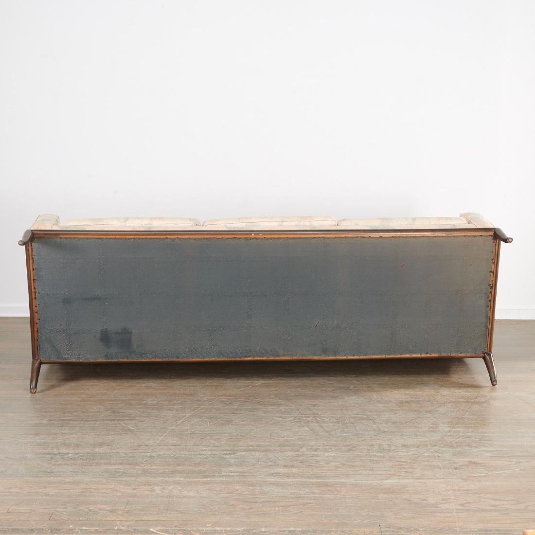 T.H. Robsjohn-Gibbings three-seat sofa - 8